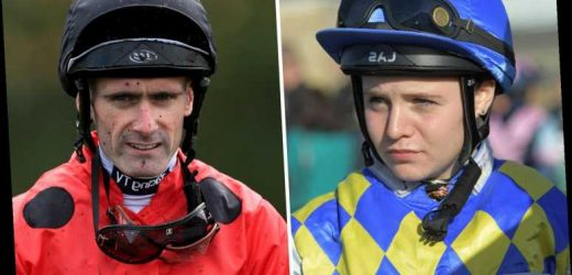 Teenage star Laura Pearson one of three jockeys in a row to be banned after winning race at Newcastle