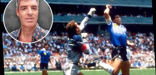 Diego Maradona cheated against England, but he faced brutal treatment on the pitch and was never protected by refs