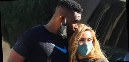 PDA Alert! Chrishell Stause, DWTS' Keo Motsepe Get Cozy After Gym Sesh