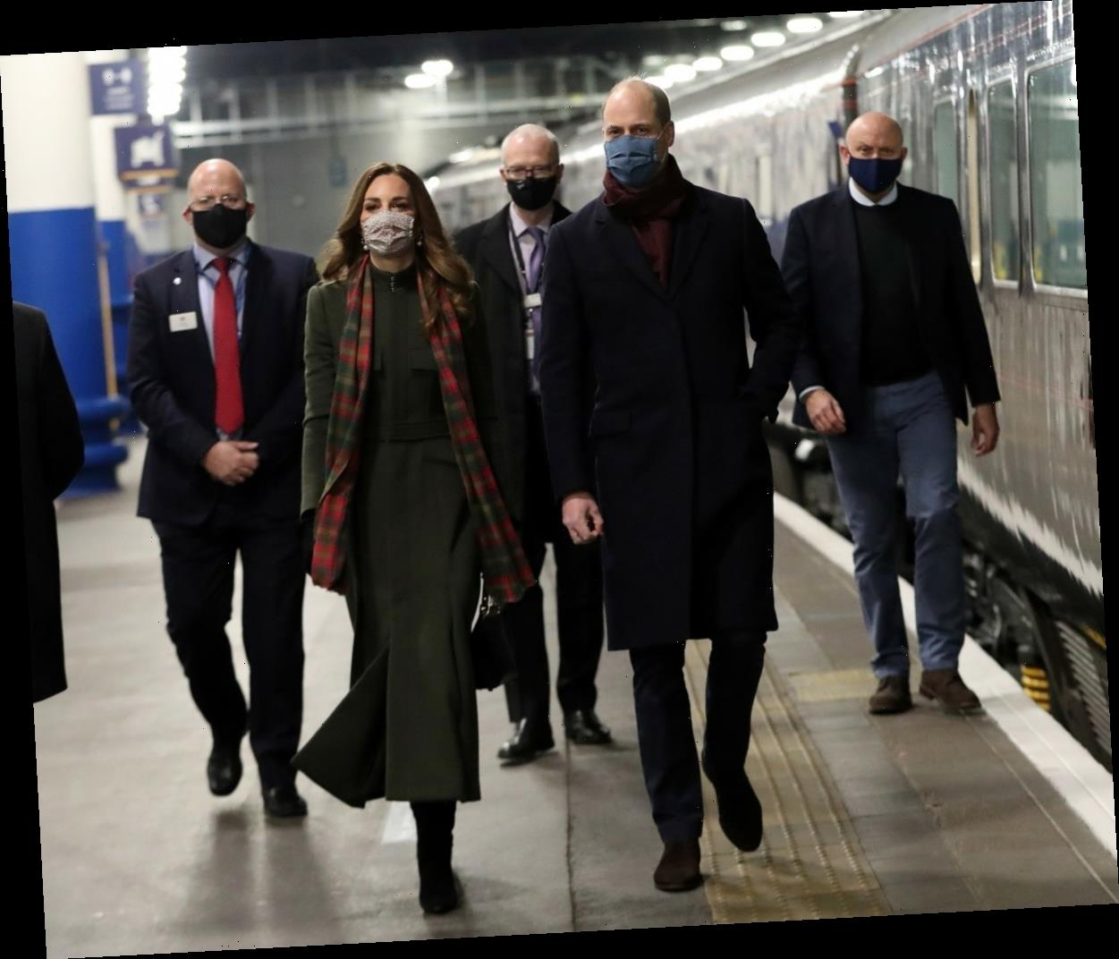 How much did Prince William & Kate's pandemic tour cost just for the Royal Train?
