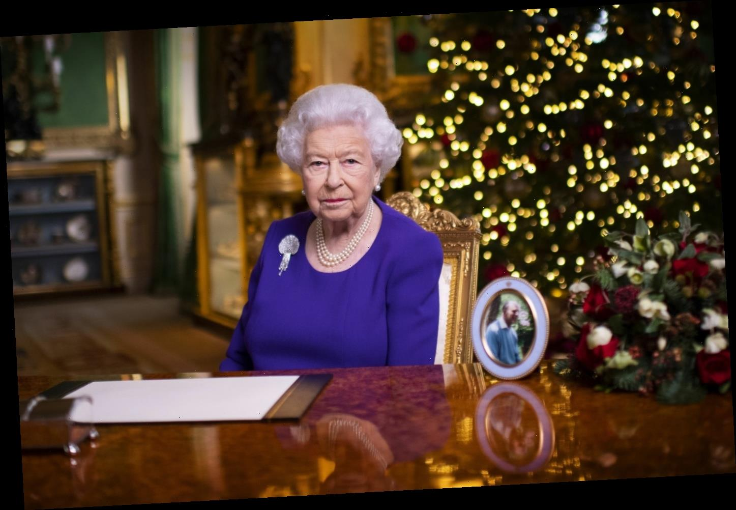 Queen Elizabeth's Christmas speech was very religious & bittersweet