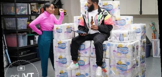 black-ish's Dre Rolls Into the New Year Prepared — 2021 FIRST LOOK