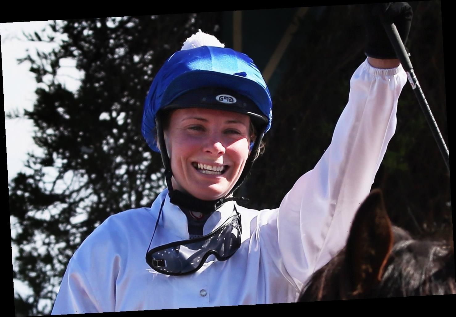 Top female jockey dreaming of being home for Christmas after incredible recovery from coma and facial surgery