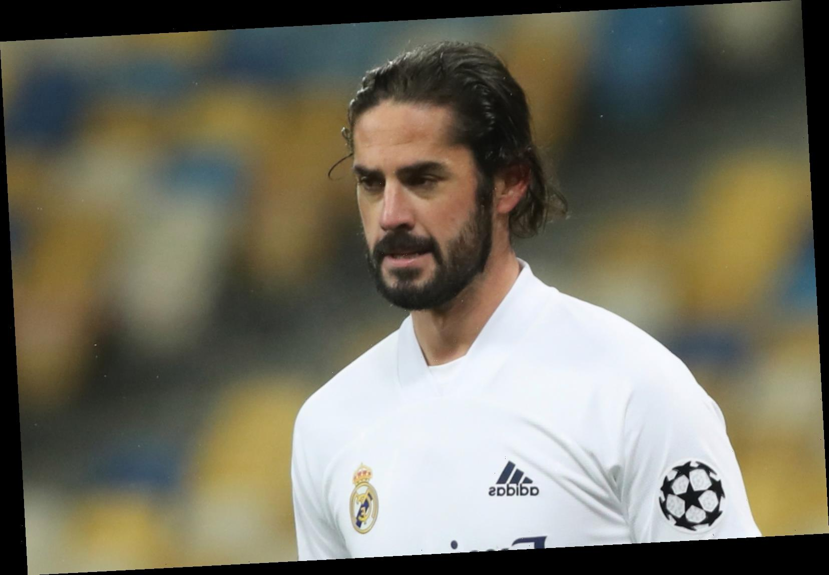 Real Madrid outcast Isco 'didn't even warm up during last three matches' after huge fallout with Zinedine Zidane