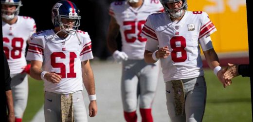 Daniel Jones injury gives Giants a taste of NFC East's QB catastrophe