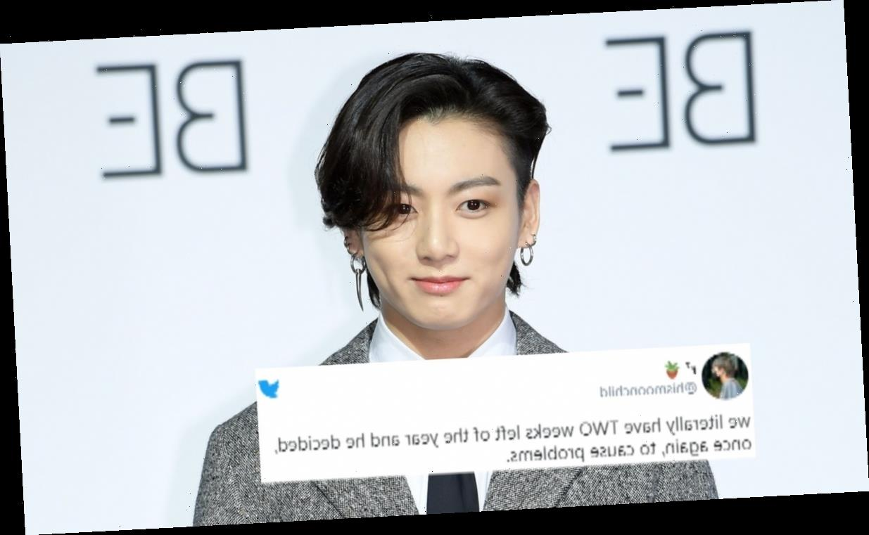 These Tweets About BTS' Jungkook's Unbuttoned Shirt At KBS Gayo Are Thirsty AF