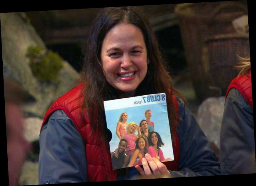 I'm A Celeb fans spot the 'moment' Giovanna Fletcher won the show when she brought S Club 7's 'Reach' as her luxury item