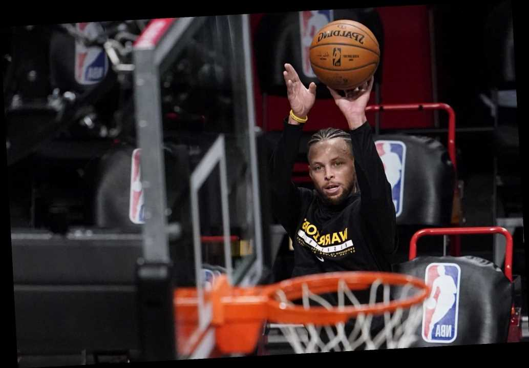 Shooting star: Curry makes 105 straight 3s post-practice