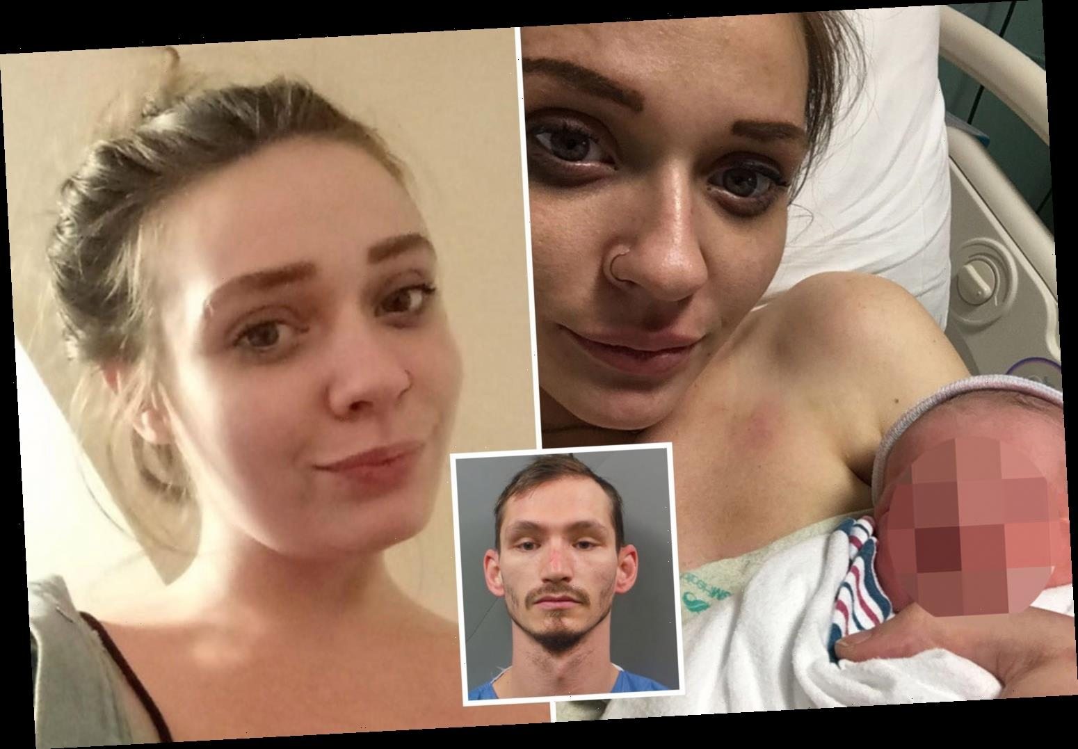 Pregnant mom Amethyst Killian was 'stabbed 20 times in face and stomach' as online lover charged with murder