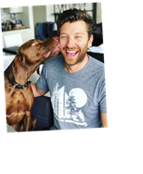 Brett Eldredge Jokes That His Popular Pup Has Retired: 'I Didn't Want an Influencer Dog Anymore'