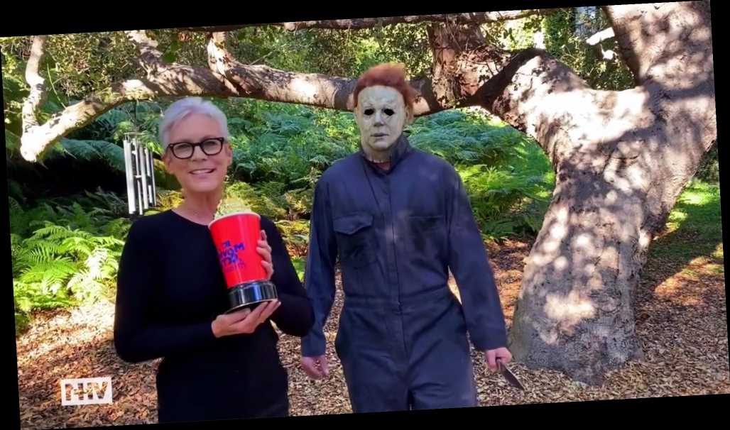 Jamie Lee Curtis Invites 'Friend' Michael Myers to Accept Scream Queen MTV Movie & TV Award