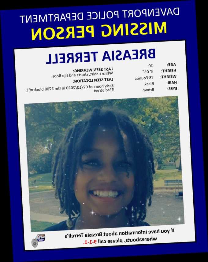 FBI Pleads for Help in Locating Iowa Girl, Missing for 5 Months, on Her 11th Birthday
