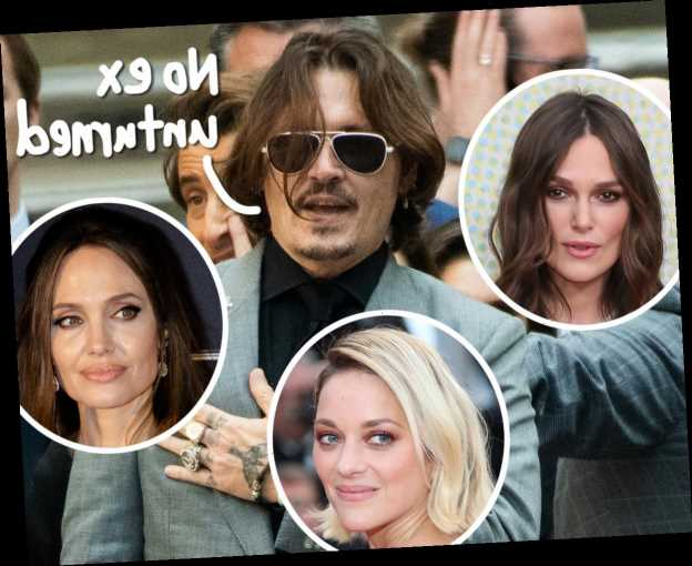 Johnny Depp Was Allegedly ROMANTIC Partners With Angelina Jolie, Keira Knightley, & More In Shocking New Report!