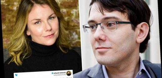 Writer Christie Smythe says her ex is 'not happy' after she revealed how she left him for 'pharma bro' Martin Shkreli