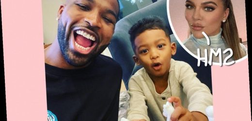 Khloé Kardashian Called Out After Commenting On Instagram Pic Of Tristan Thompson's Son!