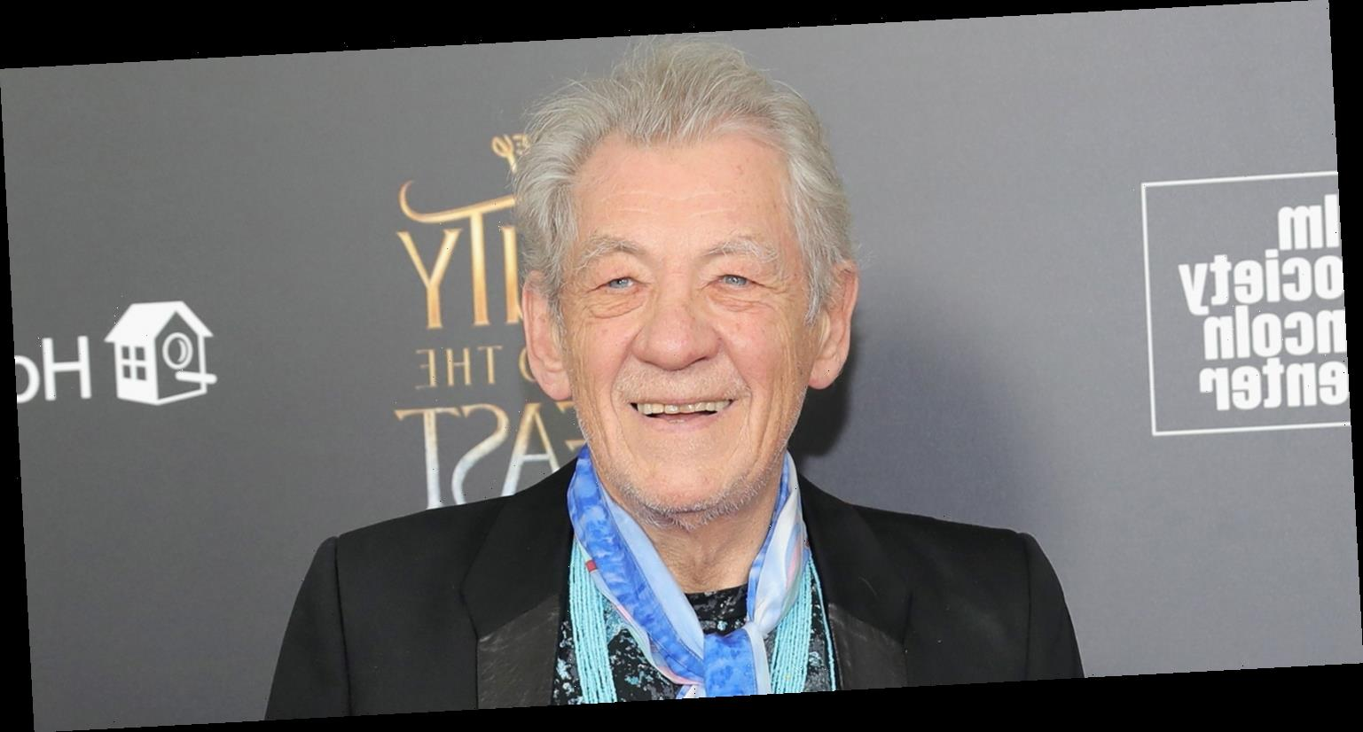 Sir Ian McKellen Becomes One of First Celebrities to Get the COVID-19 Vaccine