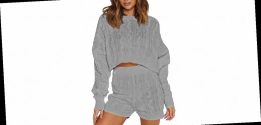 This 2-Piece Knit Set Is Every Lounge Lover's Dream