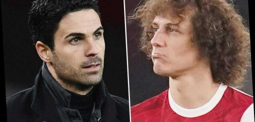 Arsenal star David Luiz denies Mikel Arteta fall out after claims that boss 'vowed to destroy player behind leaks'