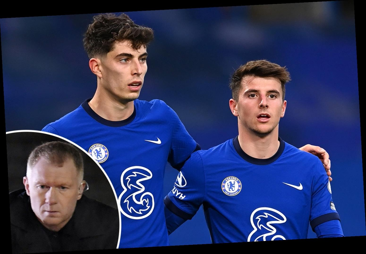 Chelsea 'not quite ready' to win Premier League but young talents will become 'fantastic', claims Paul Scholes