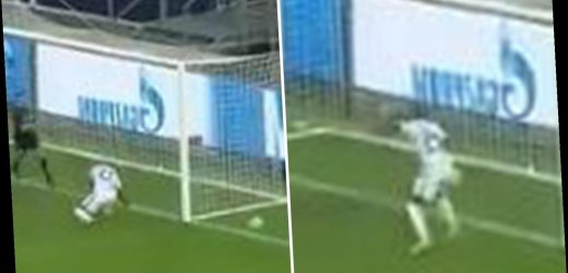 Watch ex-Man Utd star Ashley Young's horror miss from just a few yards out in Inter Milan win over Monchengladbach