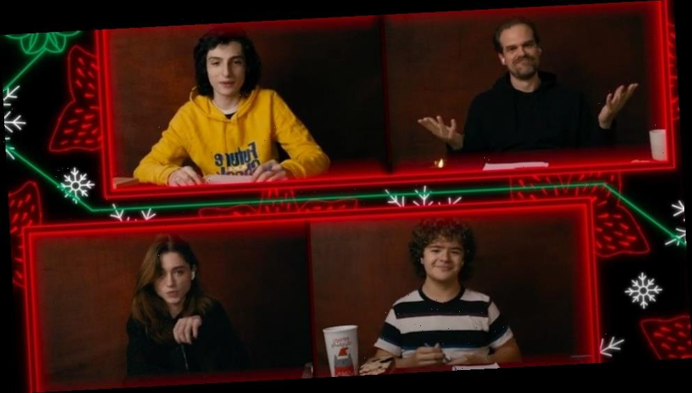 Watch: Stranger Things Dungeons and Dragons Game With Cast – /Film
