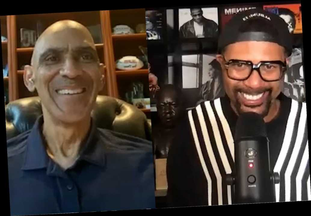 Football coach Tony Dungy would love to coach this basketball star