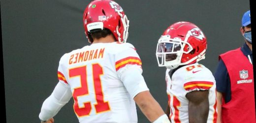 Fantasy football rankings for Week 13: Expect big things from Patrick Mahomes and Tyreek Hill vs. Denver Broncos
