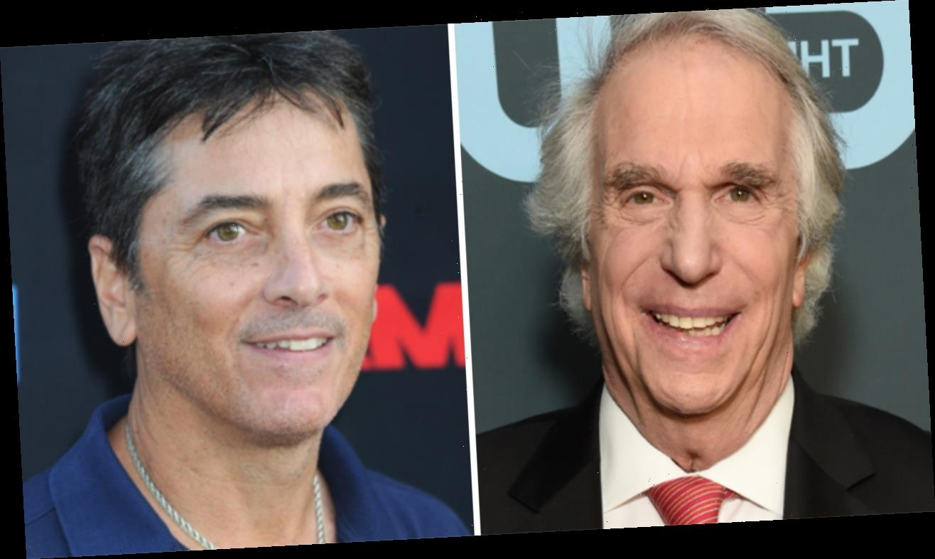 'Happy Days' star Henry Winkler reacts to Scott Baio's critical remarks about cast's reunion fundraiser