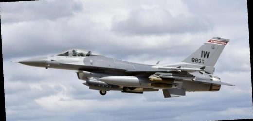 Air National Guard F-16 crashes in Michigan's Upper Peninsula