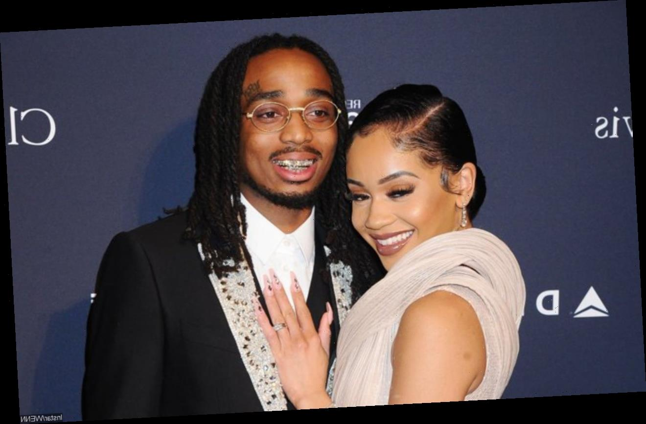 Quavo Gets Saweetie Squealing in Delights Over His Extravagant Christmas Gift