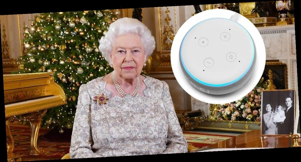 The Queen's Christmas Day broadcast has gone from radio to TV — and now to Amazon's Alexa