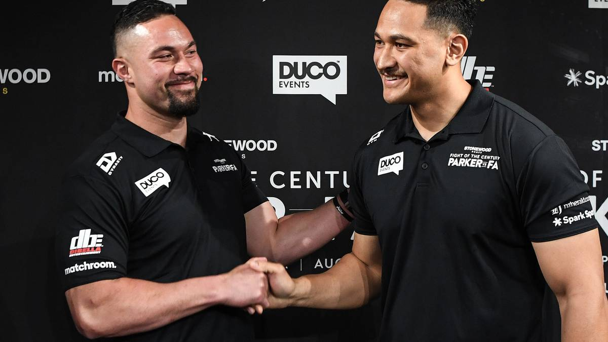 Boxing: Joseph Parker and Junior Fa face off after new fight date announced