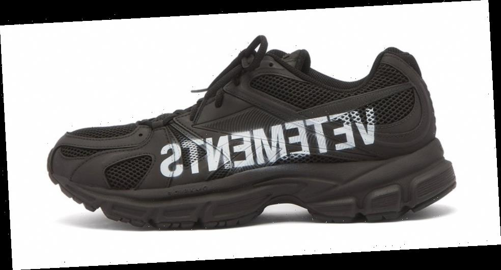 Vetements' Latest Spike Runner 200 Will Tell Everyone What You're Wearing