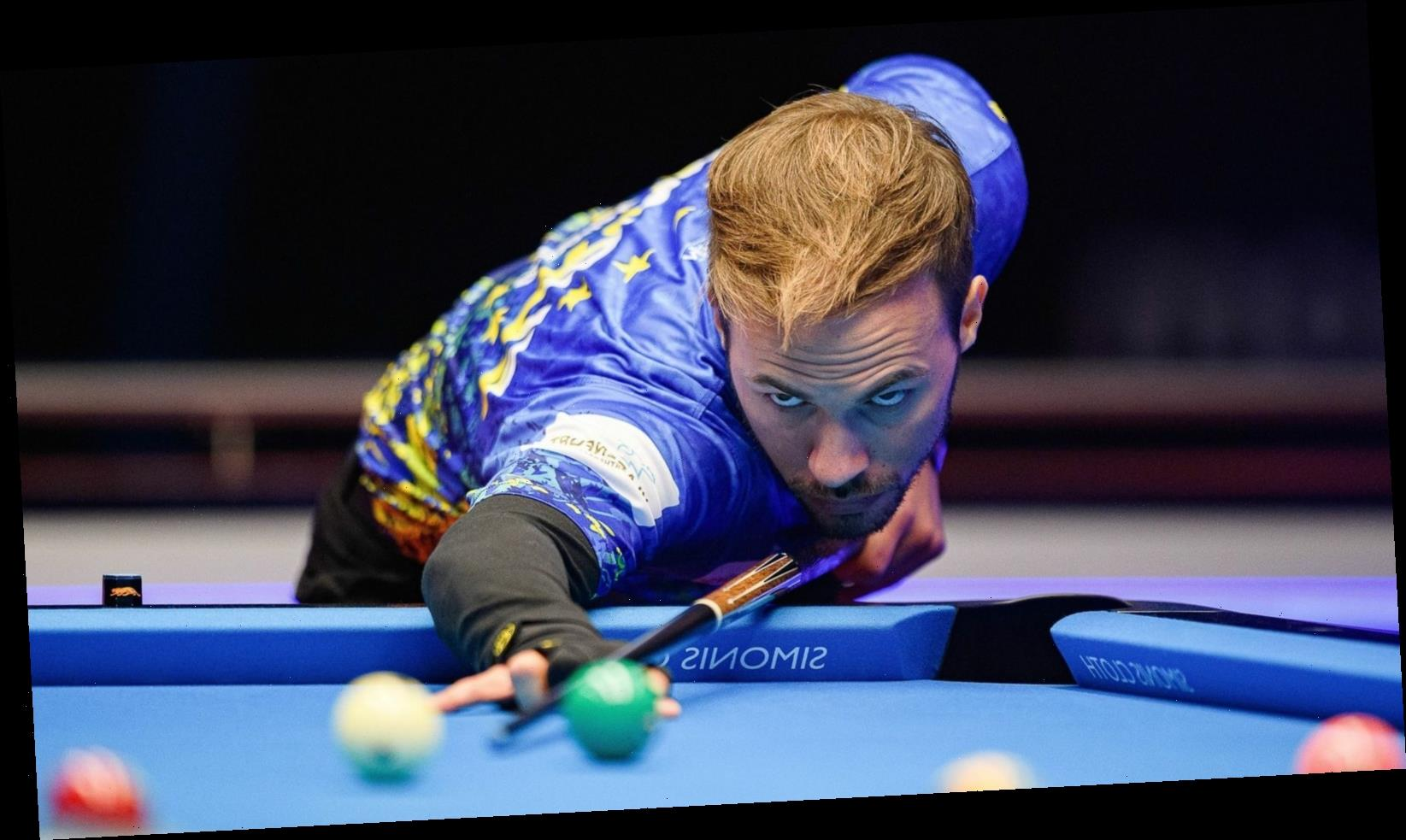 Mosconi Cup: Europe leading USA 3-2 after opening night's play in Coventry