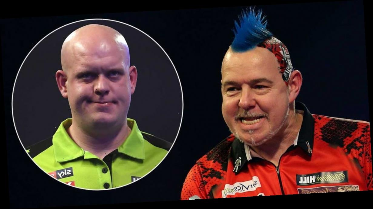 Peter Wright aims shot at Van Gerwen and says: 'I'm glad he's world No.2 now'