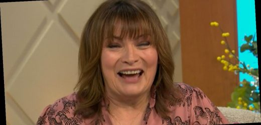 Lorraine Kelly in shock as viewers notice she is wearing X-rated dress on live TV