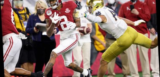 DeVonta Smith's legend grows as Alabama dominates Notre Dame in semifinal