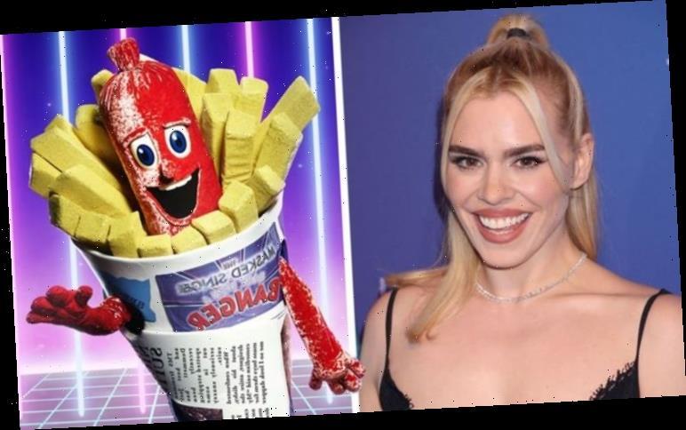 The Masked Singer fans convinced Sausage is Billie Piper after spotting huge hint