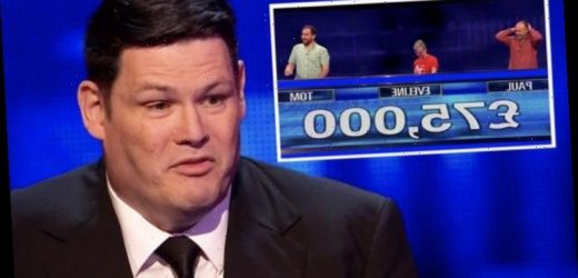 Mark Labbett accused of 'bottling it' by The Chase fans as final sees him lose £75k