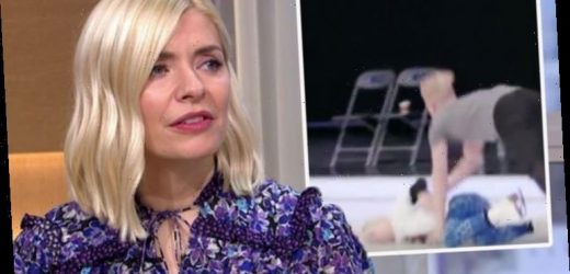 Holly Willoughby details agony watching Denise van Outen after injury on DOI 'Was tough'