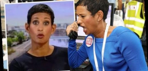 Naga Munchetty show suffers 'dead air' after caller's devastating story 'Sorry for silence