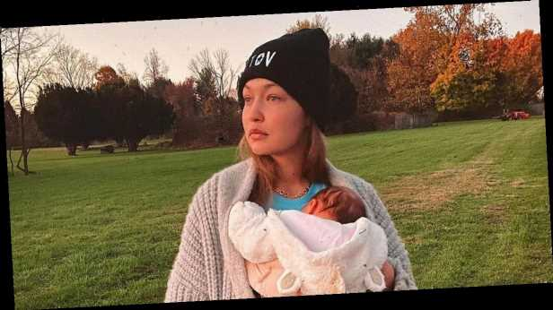 Gigi Hadid calls newborn daughter 'my girl' as she posts sweet snap of her gripping her finger