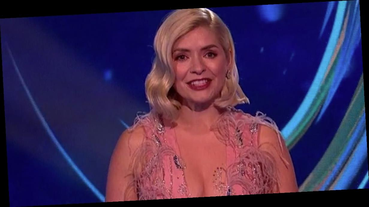Dancing on Ice fans slam Holly Willoughby's boob-baring gown on 'family' show