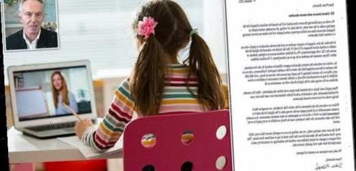 Blair backs call for laptops for deprived kids if schools close