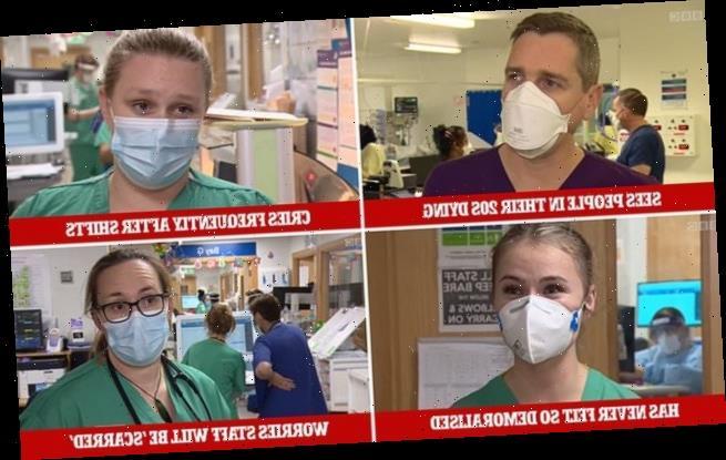 Staff at London hospital admit they've 'never felt more demoralised'