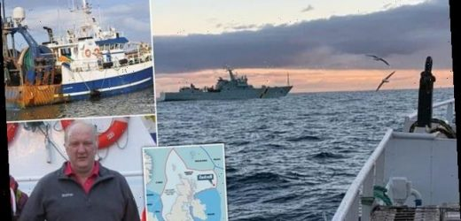 Irish trawler is routed in first post-Brexit fishing clash