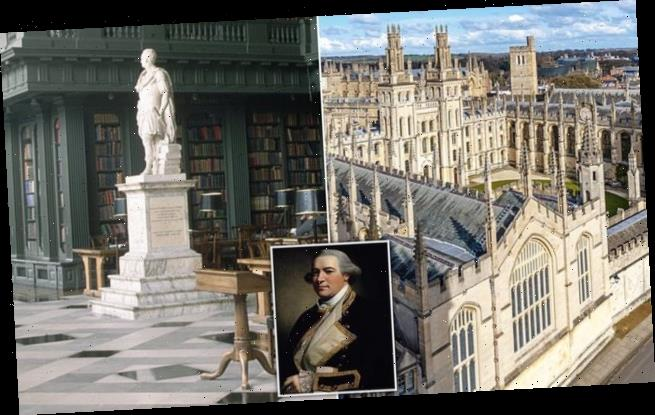 Oxford college refuses to remove statue of slave owner from library