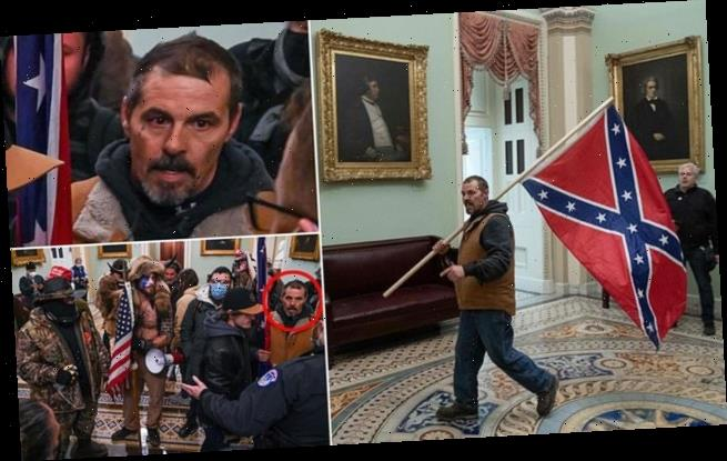 FBI asks public for help identifying Confederate flag-waving rioter