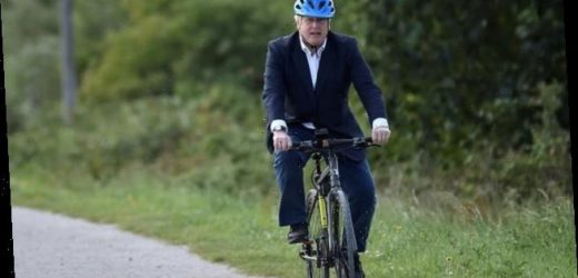 Boris Johnson 'seen cycling seven miles from No10 in the Olympic Park'