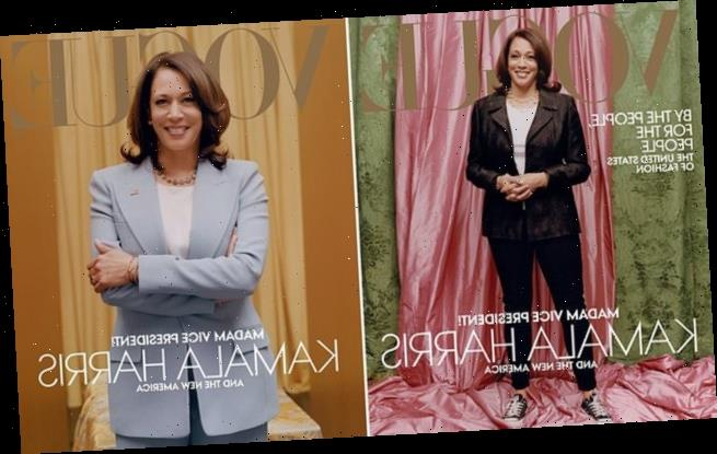Kamala Harris is 'extremely disappointed' with her Vogue cover
